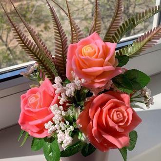 Ароматный букет из роз