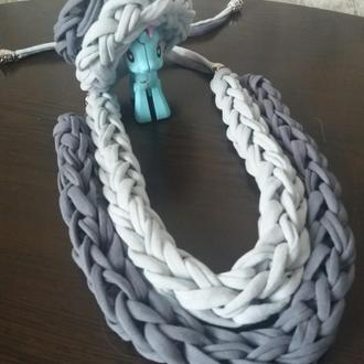 Колье з браслетом/ожерелье  подвеска  кулон бижутерия аксессуар украшение на шею/