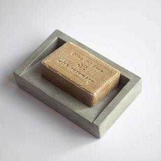 Мильниця з бетону бетонная мыльница