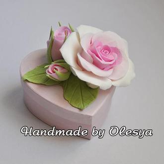 Эксклюзивная Подарочная Коробочка с Реалистичными Розами