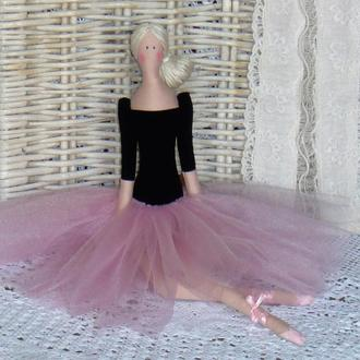 Кукла в стиле Тильда Балерина 48см