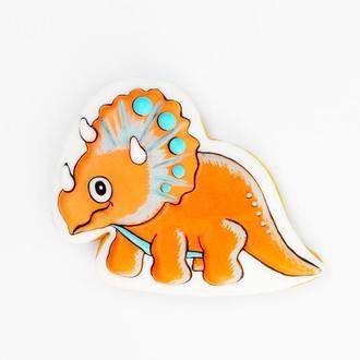 Пряничный динозавр.