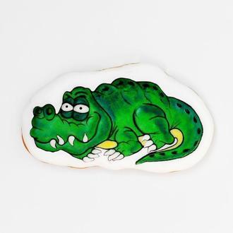 Пряничный крокодил.