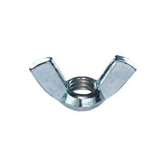 Гайка Барашек Резьбовая Ø6 мм для Шпильки Бизиборда Барашковая Металл Гайка DIN 315 М6 Металева