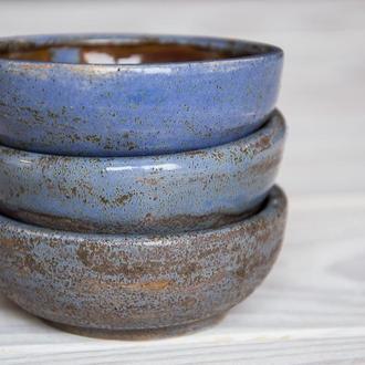 Набор пиал для чая чаш для чайной церемонии, 3 предмета
