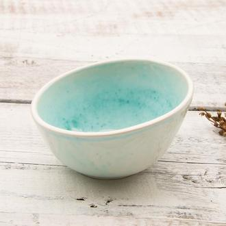 """Пиала Суповая Для десерта Мороженого 320мл из моей коллекции """" Моя Бирюза"""""""