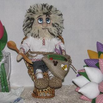 Интерьерная кукла Домовой Архип