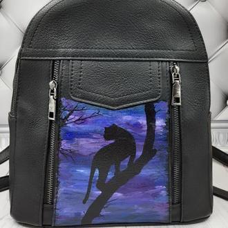 Рюкзак молодежный чёрный