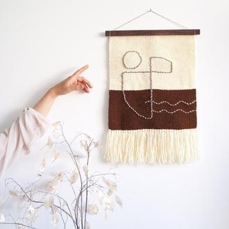 Гобелен панно тканині з малюнком абстракнтим