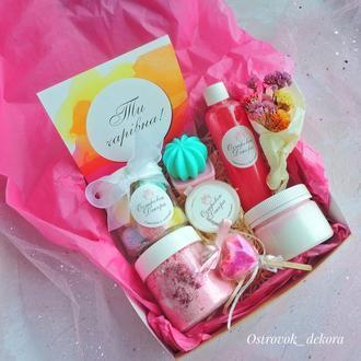 """Подарочный набор """"Гламурный_кактус"""", подарок для девушки"""