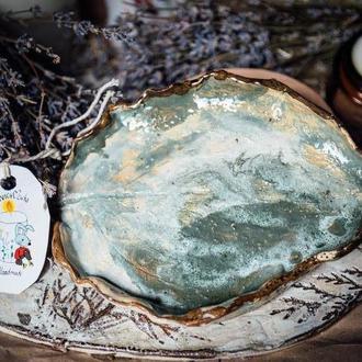 Керамическая конфетниця | Подставка | Тарелка | Тарелка | Керамика