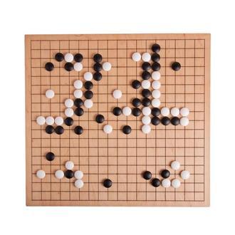 Игра Го 19х19. Доска для игры в Го с набором камней из фаянса