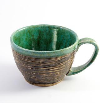 Чашка керамическая большая