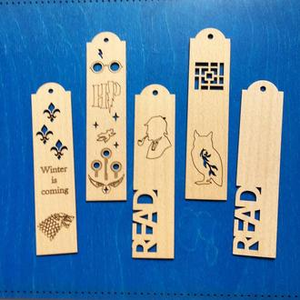 Заготовки деревянных закладок для Вашего творчества