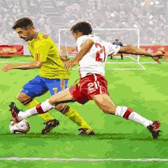 Картина по цифрам Футболисты GX23643 40 х 50 см
