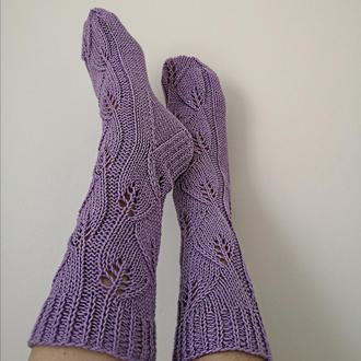 Носочки хлопковые ажурные.
