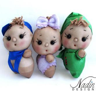 Пупсы, куклы из капрона мягкая игрушка