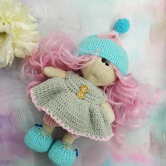 Кукла София вязаная