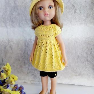 Одежда  для куклы Paola Reina  (Паола Рейне)(туника+бриджи+панамка)
