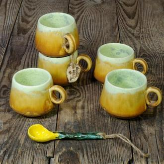 Чашки для кофе. Горнятка для кави.
