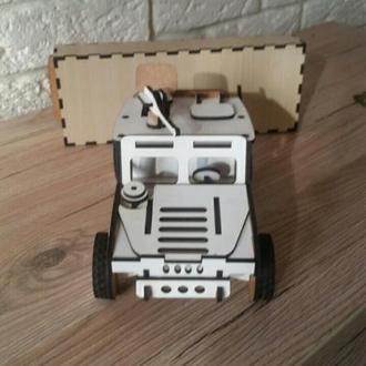 """3D Пазл """"Джип Hummer"""" в подарочной упаковке"""