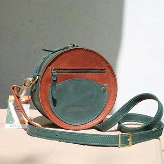 Кругла сумка Kvoka