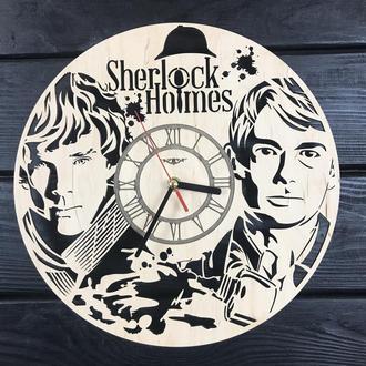 Тематические интерьерные настенные часы «Шерлок»