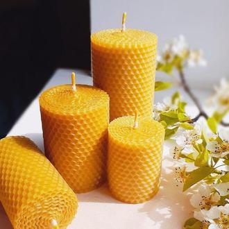 Набор свечей из вощины (3 шт)