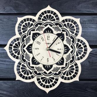 Тематические интерьерные настенные часы «Мандала»