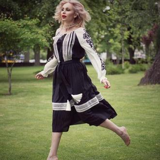 Платье в этностиле