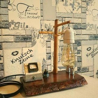 Настольная лампа «Опора ЛЭП»