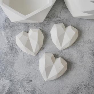 """Декор """"Сердце"""" LOVE из бетона в стиле Loft, бетонное сердечко"""