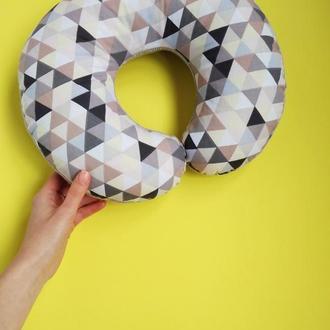 Подушка для путешествий - геометрия киев, дорожная подушка запорожье, подушка для шеи