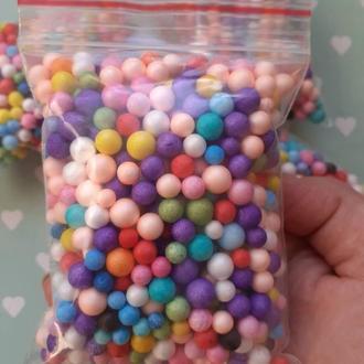 Пенопластовые шарики 4-8 мм