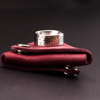 Оригинальное кольцо со звездами, ювелирная сталь
