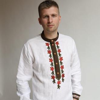 Мужская вышиванка праздничная