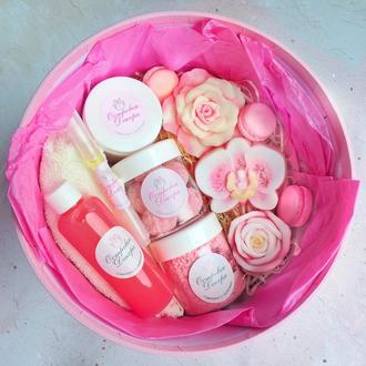 """Подарочный набор """" Pink box """" , подарок девушке, жене, маме, подруге"""
