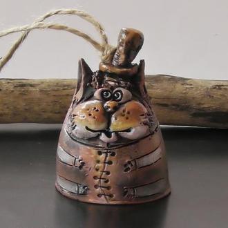 Котик Колокольчик в виде кота
