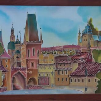 Крепость в старом городе