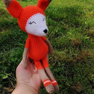 Лисичка. Игрушка лисичка.