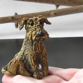 Статуэтка собаки Ирландский терьер