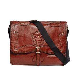 Червоний шкіряний портфель Franko red Briefcase