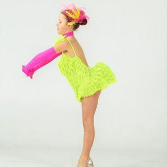 платье для бальных танцев Латина Youth dance style