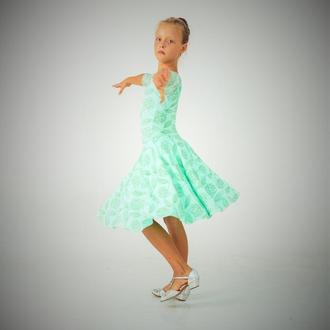 """Рейтинговое платье для бальных танцев """"Greenstar"""""""