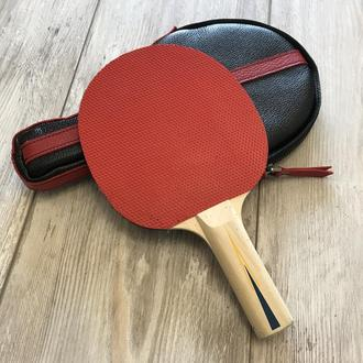 Чехол для ракетки настольного тенниса. Футляр для ракетки.
