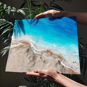 """Картина """"Красное море и пустыня"""""""