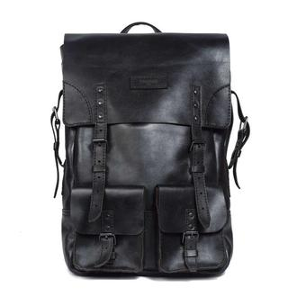 Большой кожаный рюкзак Franko brown Big Backpack