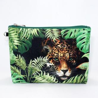 Косметичка «Леопард»