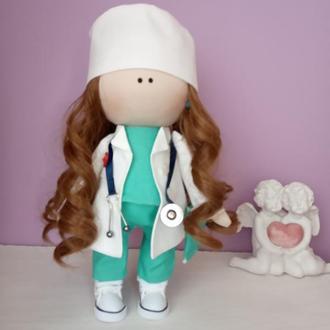 Интерьерная кукла  Доктор.