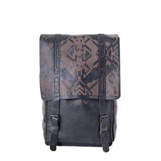 Маленький черный рюкзак Franko Pixel black Small backpack